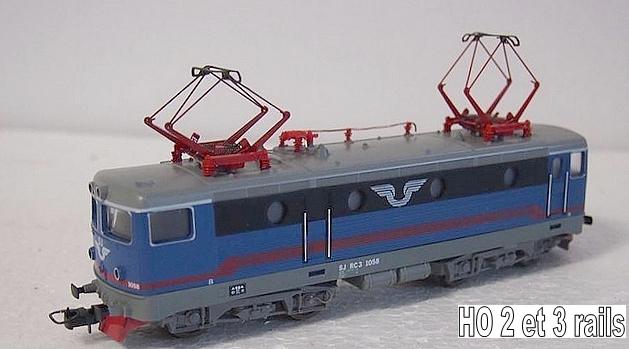 Machines RC des chemins de fer suédois 268390LimaRC1058R