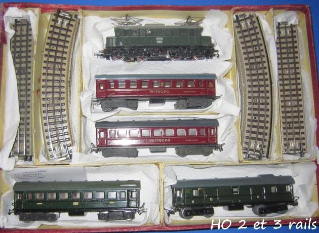 Coffrets Märklin 1936 - 1968 (rouges, noirs, verts ou bleus) 268779Marklincoffret8414R