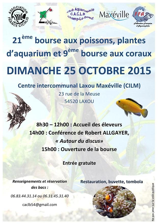 Dimanche 25 Octobre - 21ème Bourse de Champ-Le-Boeuf (54) 269273AfficheBourseCACLB2015page0