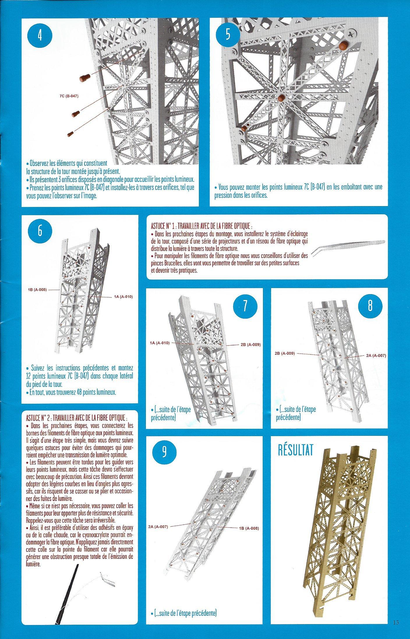 Numéro 7 - Je construis la Tour Eiffel - La Tour en chiffres 27062407c