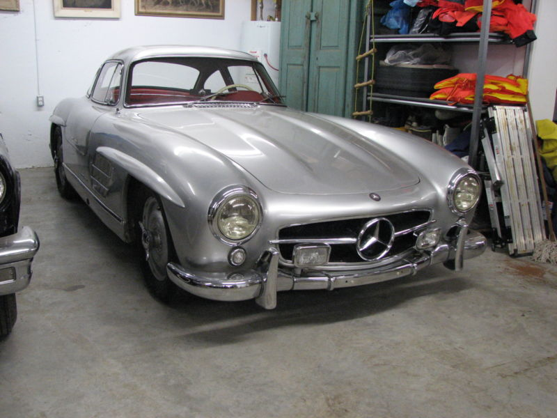 mercedes benz 300 sl gullwing 1956 miles qu bec canada occasion vendre. Black Bedroom Furniture Sets. Home Design Ideas