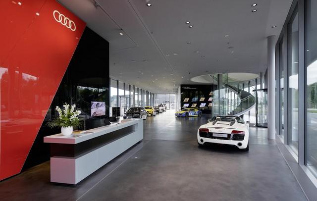 AUDI AG inaugure un complexe high-tech à Neubourg 271063AudiNeuburgcustomerbuilding