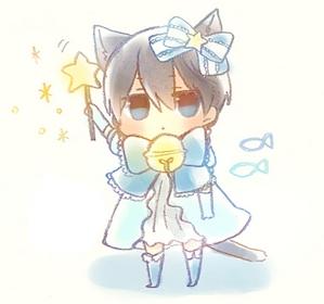 He's a mermaid, my sweet Kiku-chan (◕‿◕)♡ 271111070