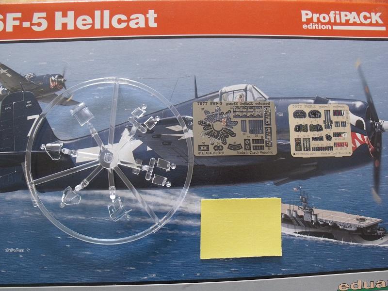 Grumman F6F-5 Hellcat - Eduard - 1/72 271230GrummanF6FHellcat005