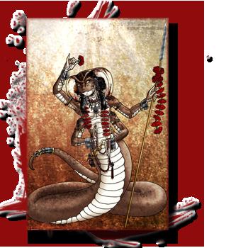 Bestiaire: Les créatures de la Grèce antique, entre Fantastique et réalité. 271247naga