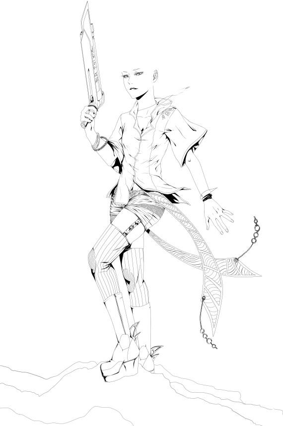 Vectoriel - [Tutoriel] Le calque vectoriel sous Paint tool Sai [Dreamy] 2724118413