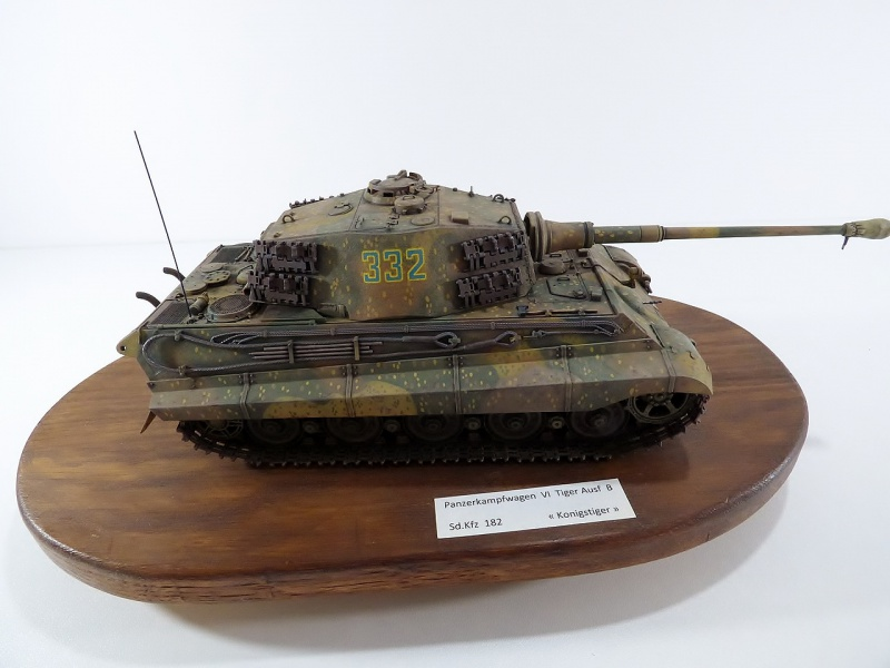 tiger - King Tiger Sd.Kfz.182 Henschel Turret Takom 1/35 272909P1060519Copier