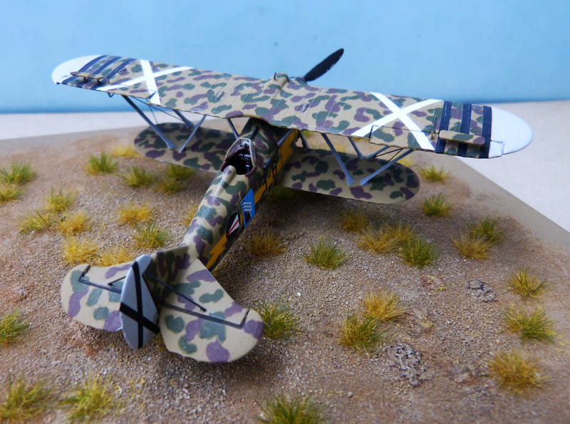 Fiat CR 32 de l'Aviation Légionnaire - Italeri (Upgrade ex Supermodel) 273442CR3276