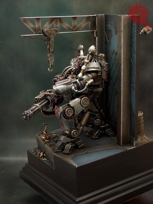 "Grey Knights Nemesis Dreadknight by Javier González ""Arsies"" 273950NemesisDreadknight4"