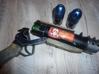 P90 KA, M4 gb Systema, lance-grenade post Apo, radio/casque 274142LG2