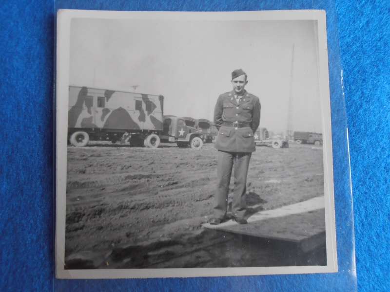 Lot de Photo de soldat US en Normandie 275056P5290027