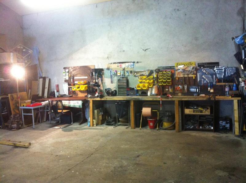 Mon garage pour 1/10 et 1/1 276023616