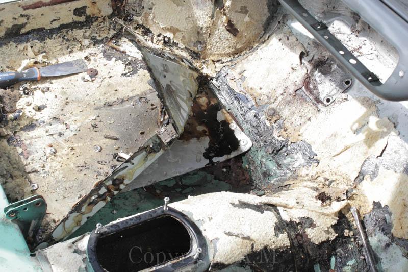 Restauration d'une Austin de 1980 276543IMG3300