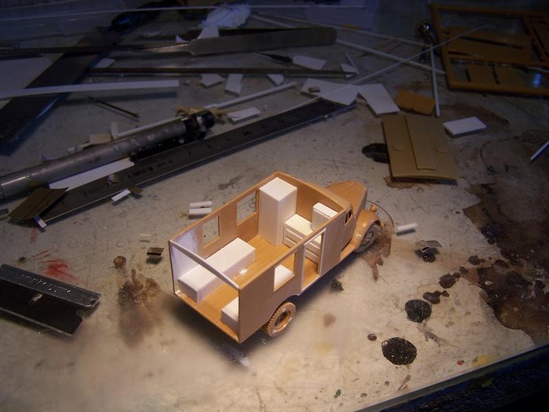 Opel Blitz Ambulance Normandie été 1944 2772841005843
