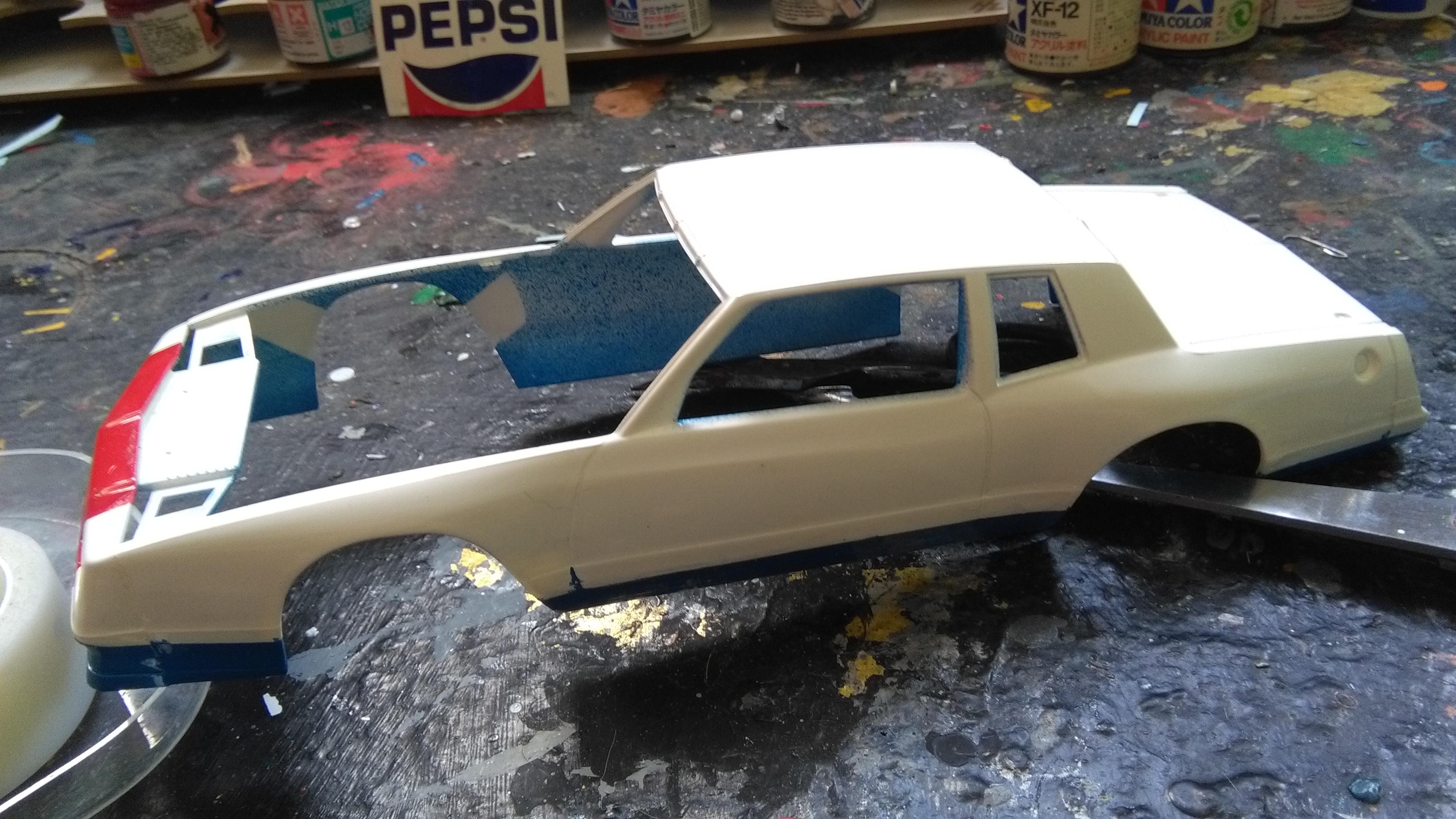Chevy Monte-Carlo 1983 #11 Darrell Waltrip Pepsi  278234IMG20170429133214