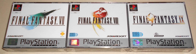 Différences Blister platinum Final Fantasy ! 279418Lot01