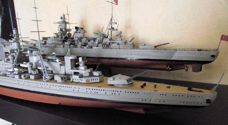 Croiseur de bataille Gneisenau Heller au 1x400 279626DSCF1421