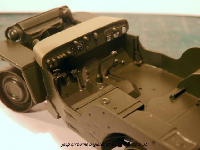 6 pdr ,jeep ,équipage airborne Bronco 1/35 (sur la route de Ouistreham) 279714P5020098