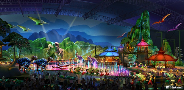 (Chine) Jurassic Dream Theme Park (2014)  280109JD12