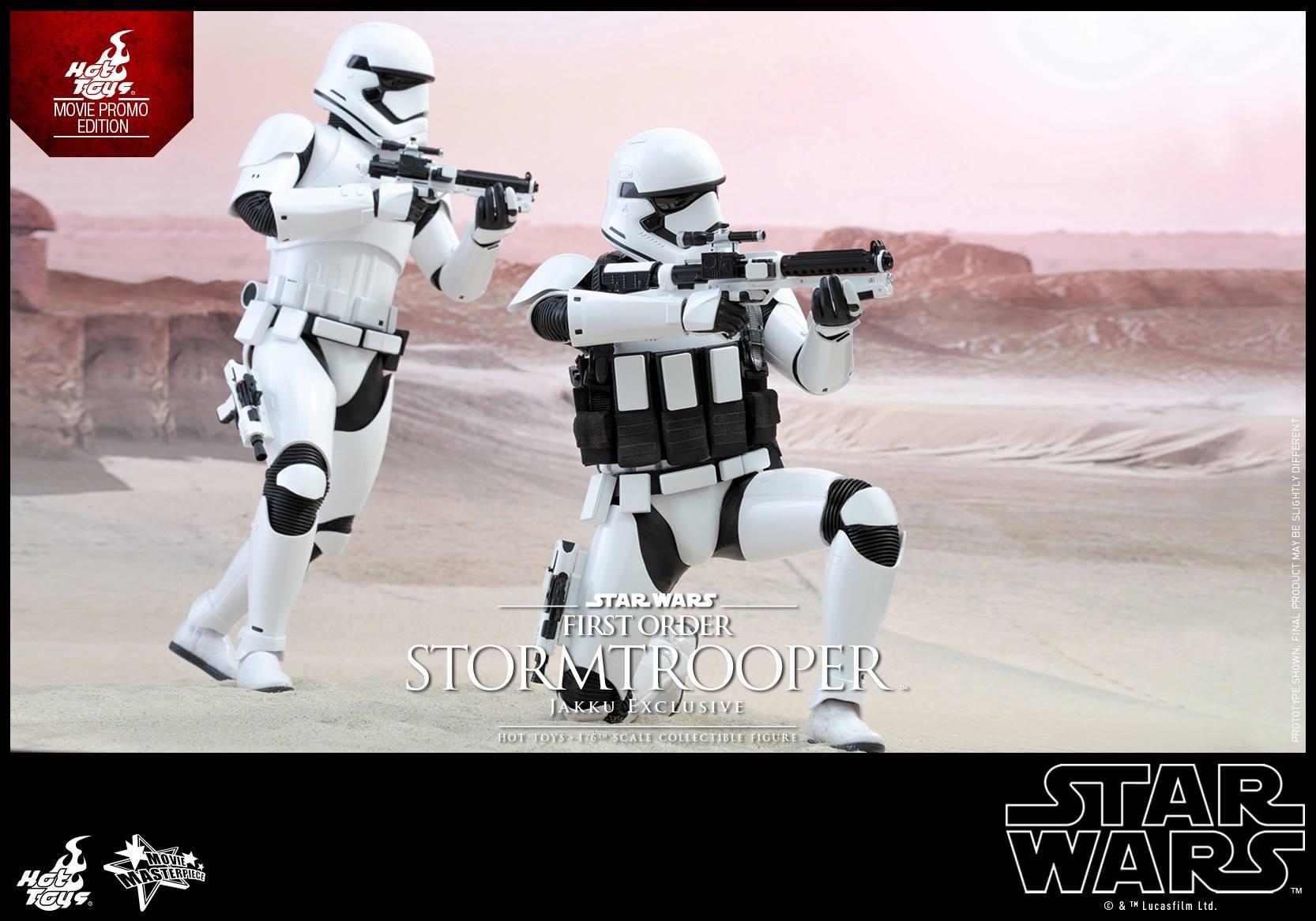 HOT TOYS - Star Wars: TFA - First Order Stormtrooper Jakku  282613108