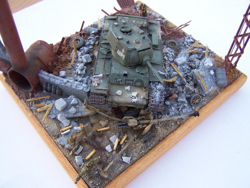 """Duel""  KV1c vs Panzergrenadiere Russie 42 2826461005505"