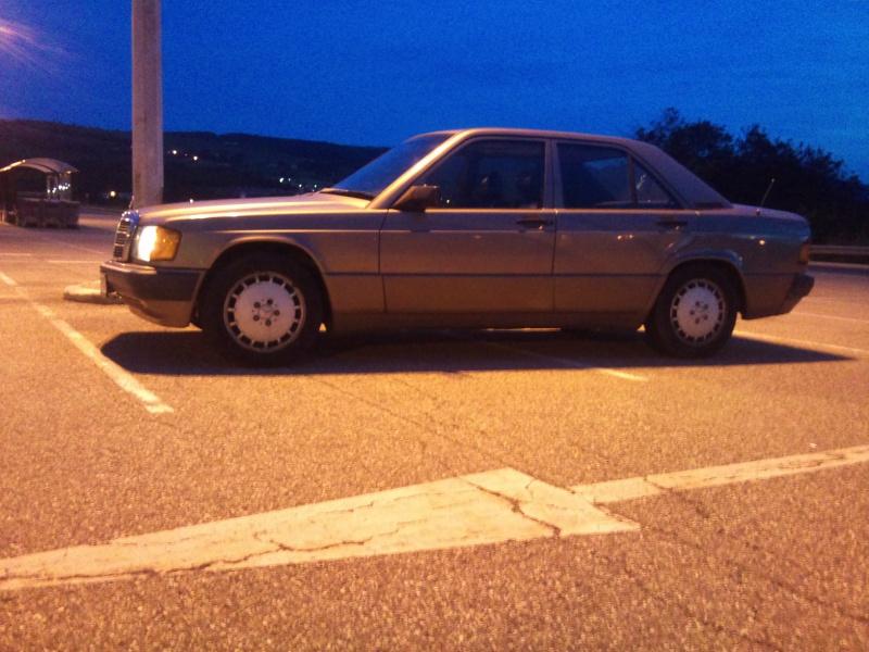 Mercedes 190 1.8 BVA, mon nouveau dailly - Page 9 283608DSC2311