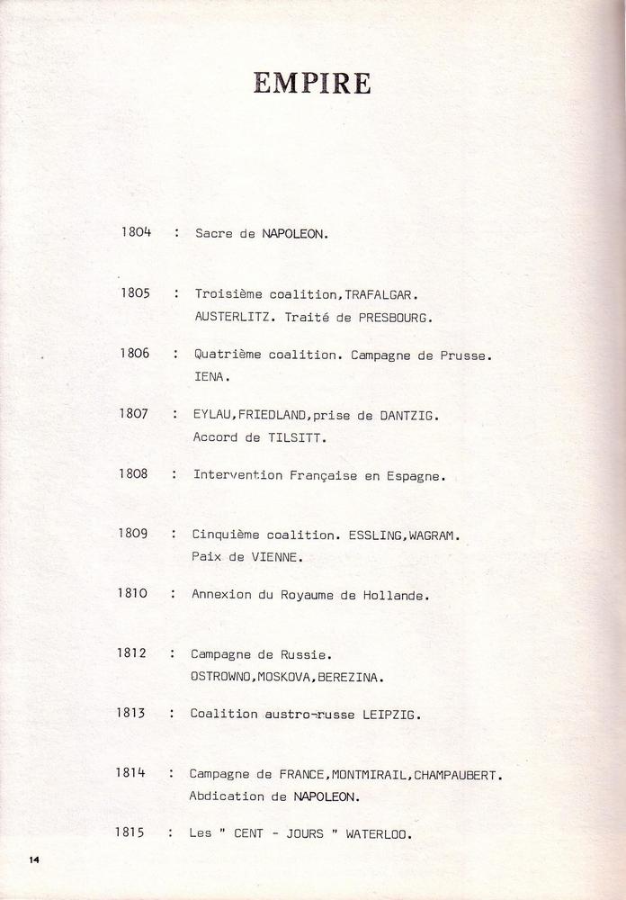 L'épopée Napoléonienne du 8 ème Régiment de Hussards  284125Historique8RHN14