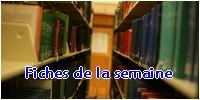 Club de Lecture - Forum Littéraire 285086BannireFichesdelasemaine