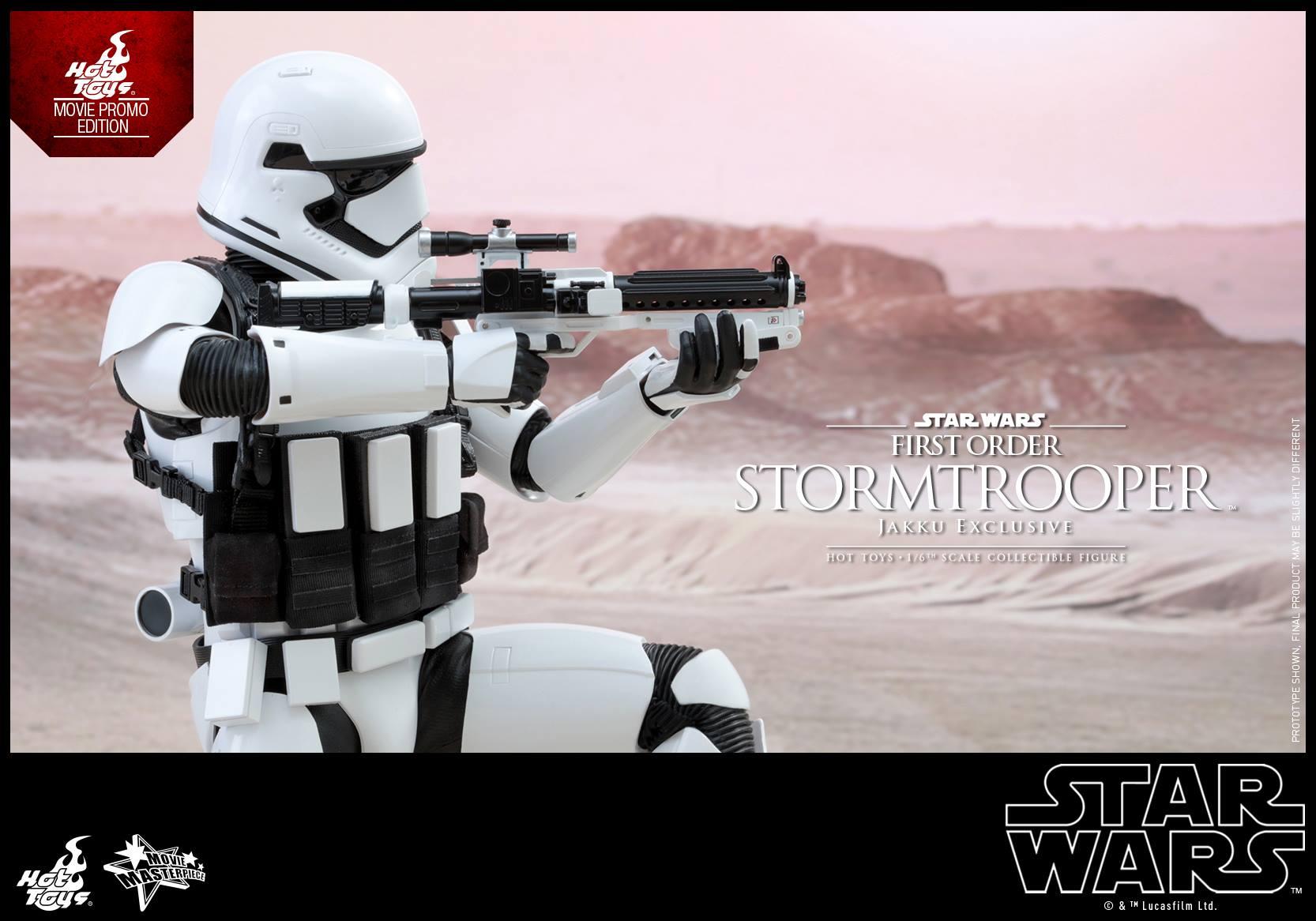HOT TOYS - Star Wars: TFA - First Order Stormtrooper Jakku  286205105