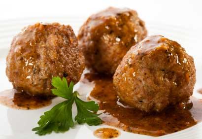 """Boulettes de bœuf bouillis et frites, Recette que préparait """"George Sand""""  2865098600"""