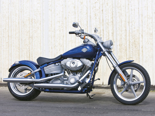 CACHES LATERAL RIBBED POUR SPORTSTER 2004 ET UP. 287124harleydavidsonsoftailrockerc156212