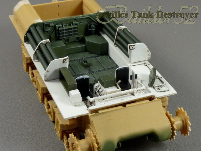 Achilles Tank Destroyer - Academy-Italeri + RB Model + set Blast 1/35 287448P1030796