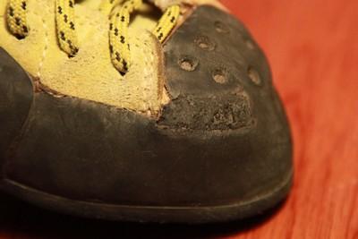 Réparer ses chaussons 287544IMG7027