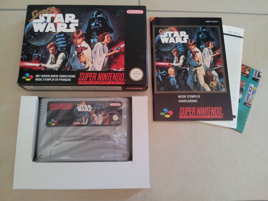 Prupru's Collection ! 100% Super Nintendo et 200% Super Comboy !! - Page 5 287657SuperStarWars