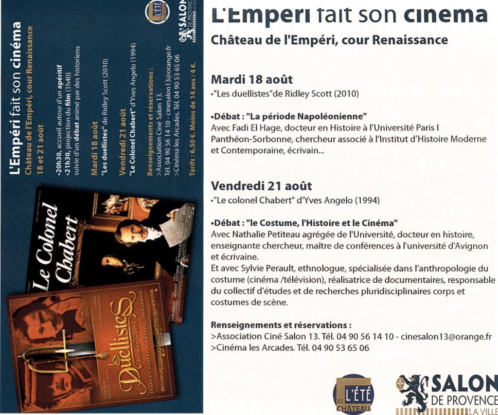 Cinéma Historique et Impérial au Musée de l'Empéri 28778420150731170403