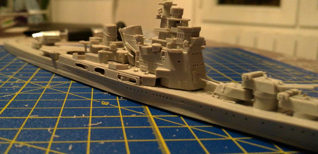 Croiseur TAKAO 1944 1/700 Pit-Road 288650Takao18