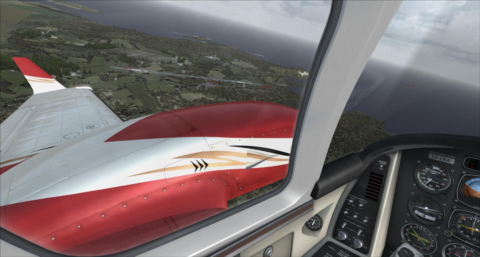 Rapport du vol: Ouessant (LFEC) à Ile de Re (LFBH) 289062201411420400955