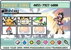 Questions 289730trainercardAshley