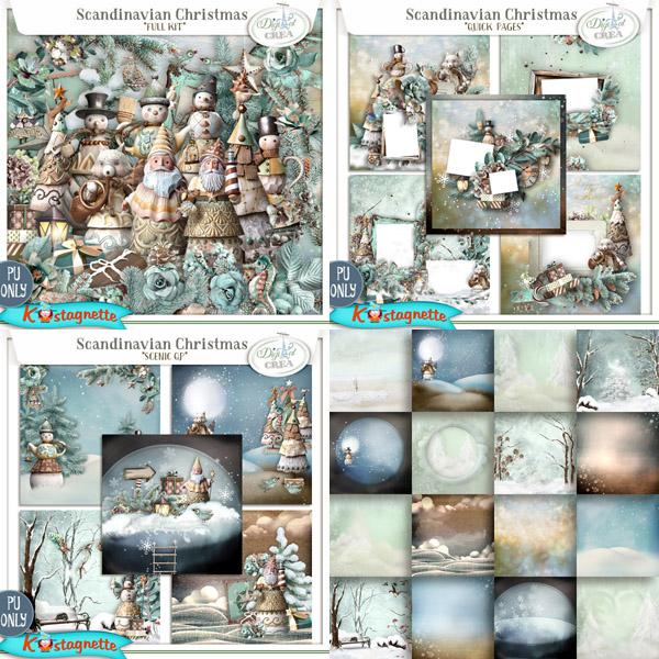 Collection Scandinavian Christmas de Kastagnette + Promo et freebie 290530122