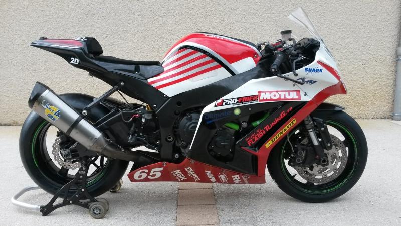 kawasaki zx10r racing  2011 avec 2500km a 13990e 29056320140723180735