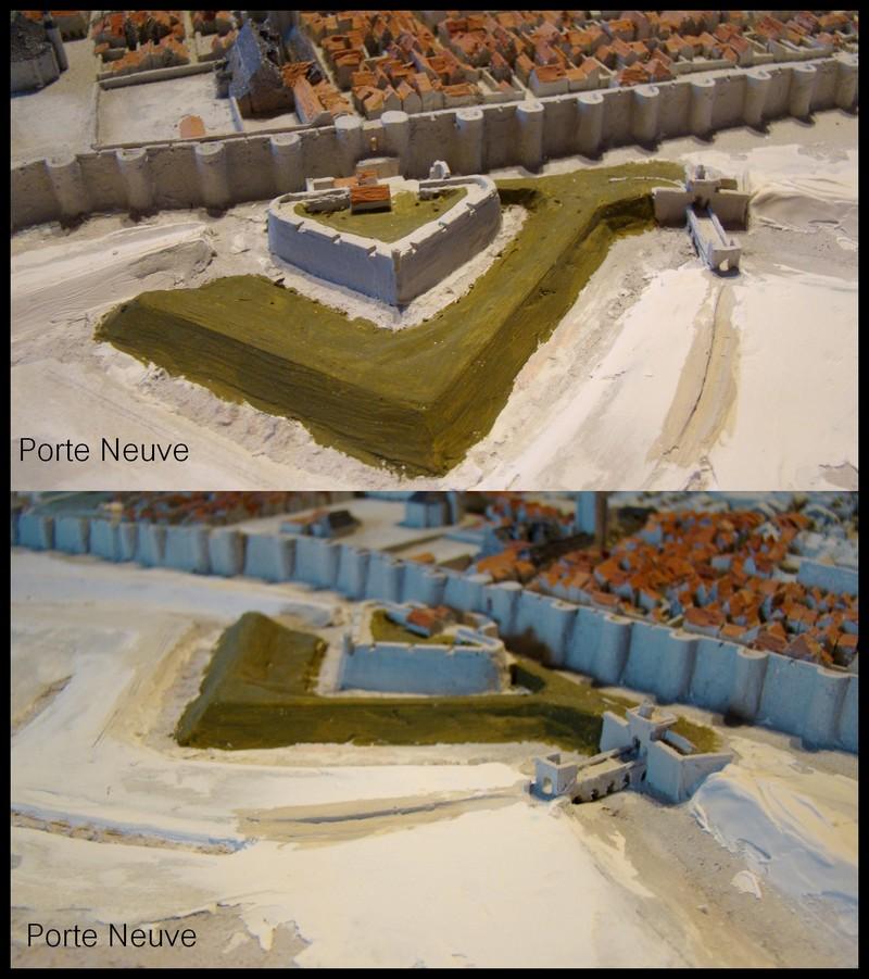 // La Rochelle 1628 // Le plan-relief // 291178doubleporteneuvepetite