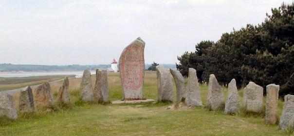 Énigme n°83 - Monument de Fernand Lechanteur à la Pointe d'Agon à Agon-Coutainville 291615Enigme