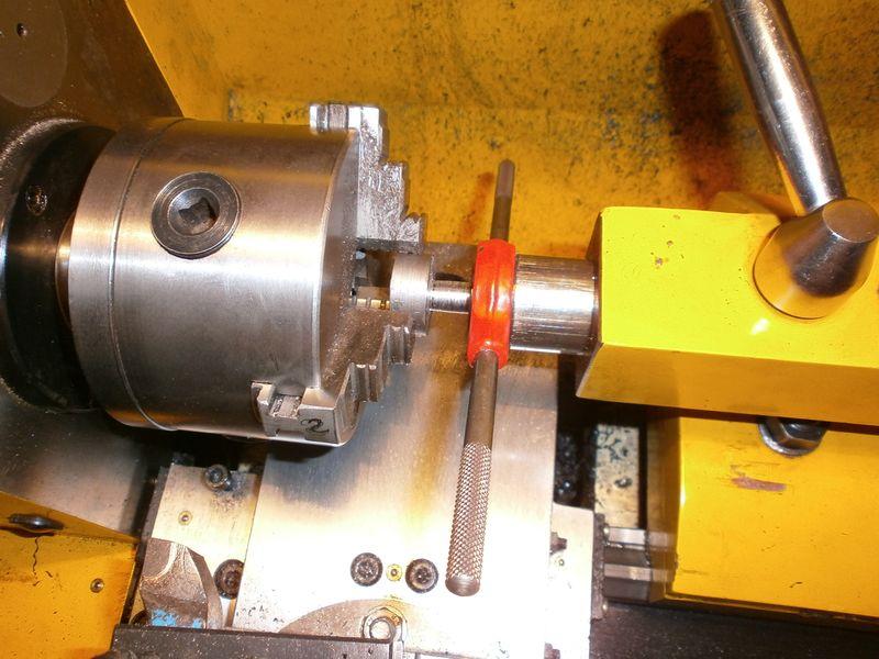 """Fabrication d'un """"bouchon"""" pour mon bac à copeaux pour récupérer le fuide de coupe 292359PB100031"""