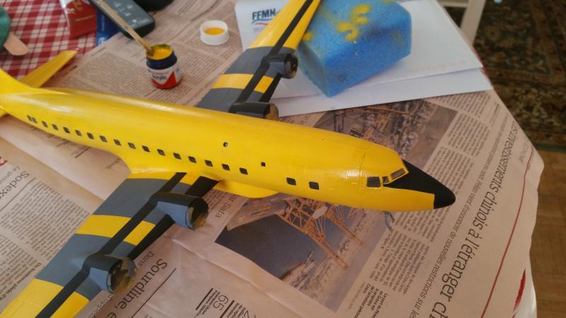 DOUGLAS DC-6B SECURITE CIVILE maquette HELLER au 1/72° - Page 2 29265720171216155602