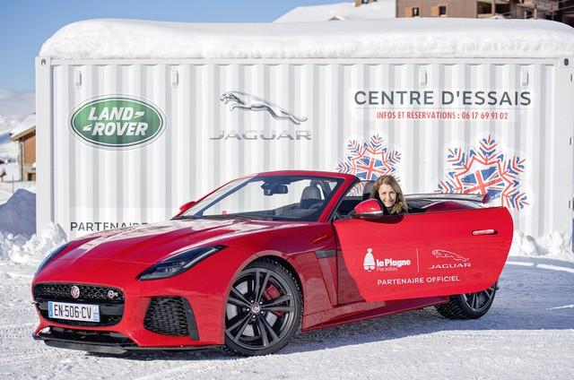 Alix Bénézech Coachée Par Anthony Beltoise inaugure la Jaguar Fun Zone à la Plagne A Bord De La Jaguar E-PACE Et La F-TYPE SVR 293310portraitanne1