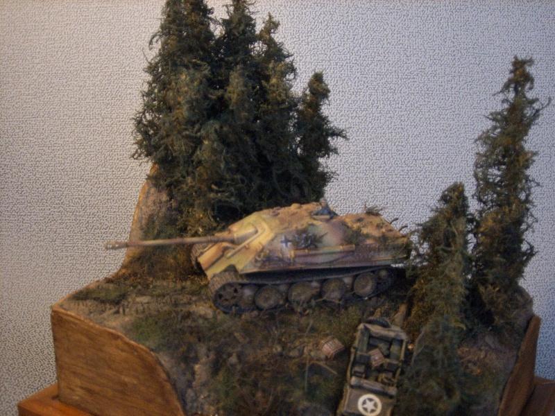 diorama - diorama au 1/76eme : ... Mauvaise surprise !!! Ardennes 44... 2953810010