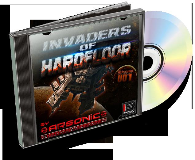 [MAINSTREAM] Arsonic - mix INVADERS OF HARDFLOOR .001 (I6/Io/2oI5) 295414InvadersofHardfloorcov013D