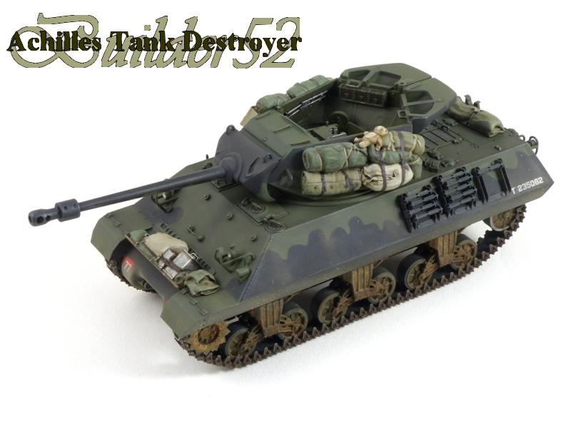 Achilles Tank Destroyer - Academy-Italeri + RB Model + set Blast 1/35 295717P1040507