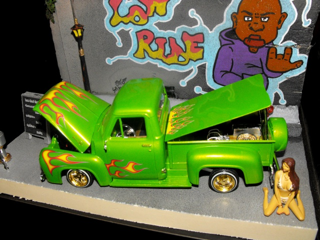 Ford F100 '55 lowrider greenfire (Terminé) 296129DSCF0153