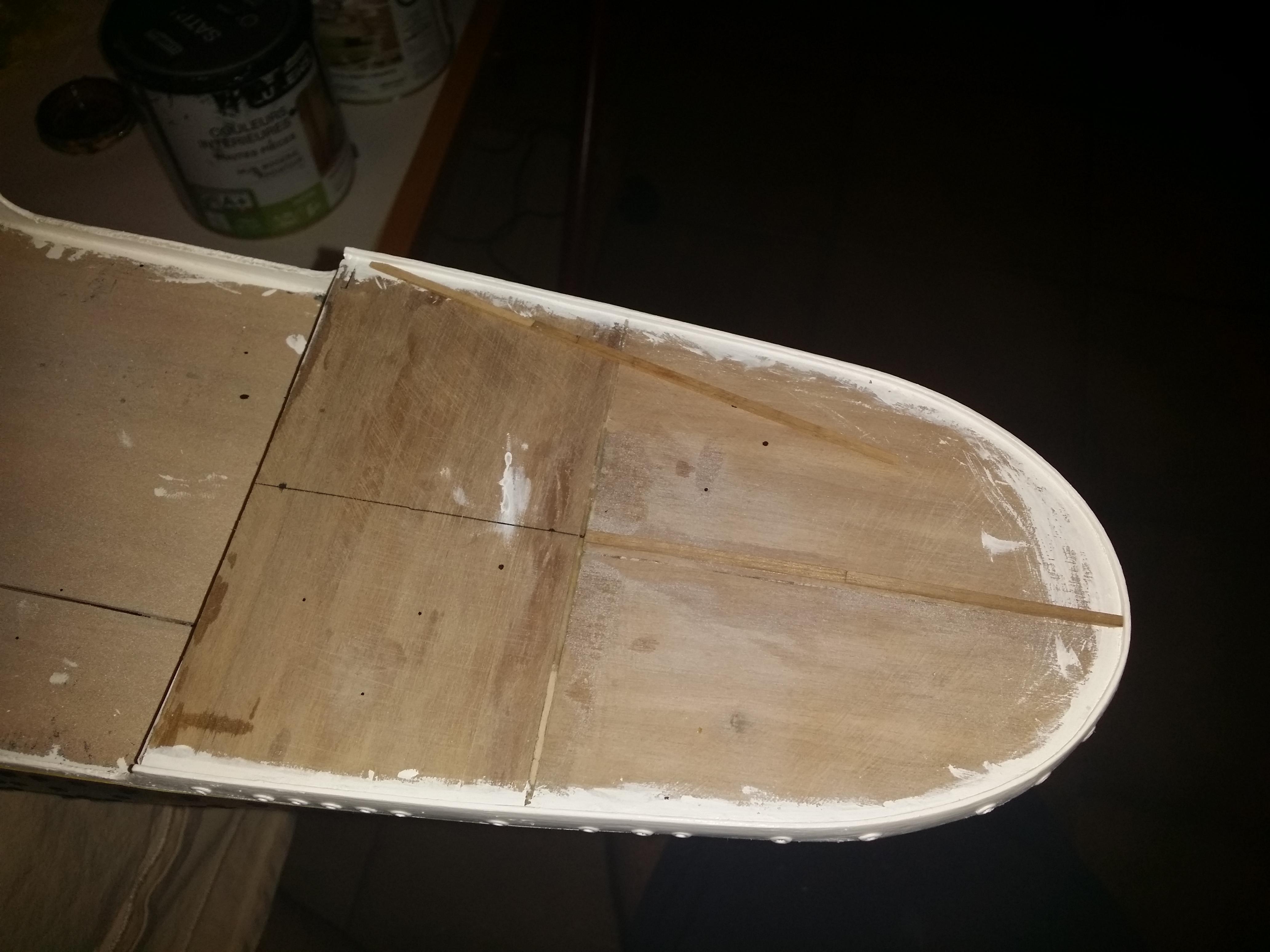 RMS Titanic sur plan   au 1/200 2962578635